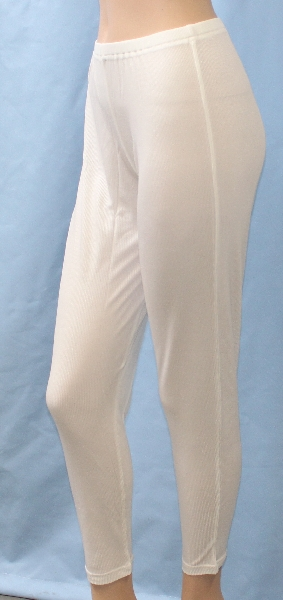 Women's long pants, 2x2 rib